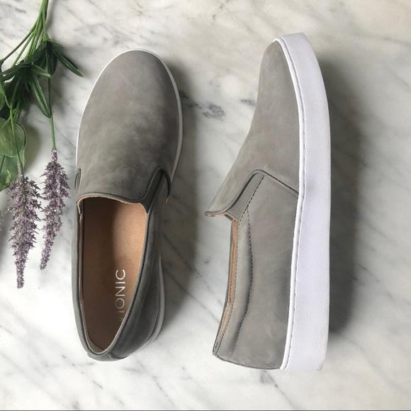 Vionic Women/'s Midi Slip On Grey Size 9 Used